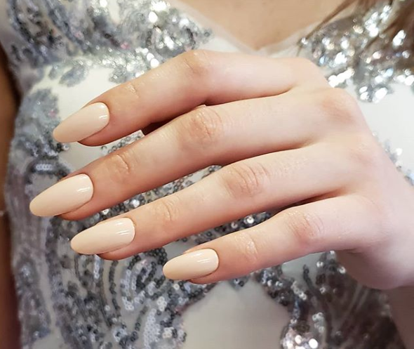 Pale Petal Muted Nail Color