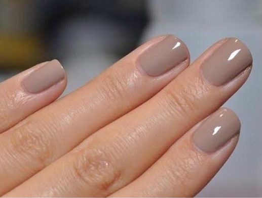 Taupe Muted Nail Color