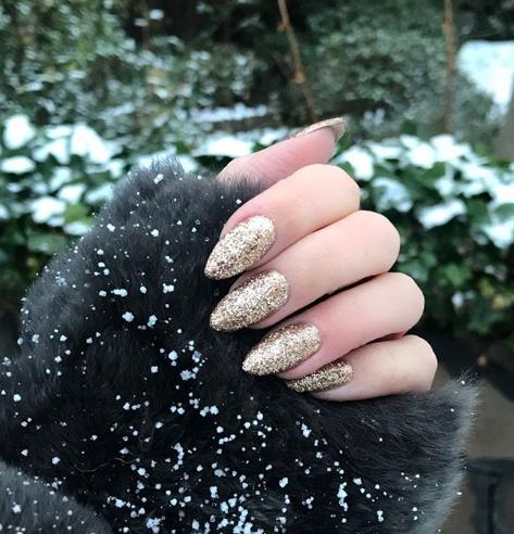 Sugaring Glitter Polish