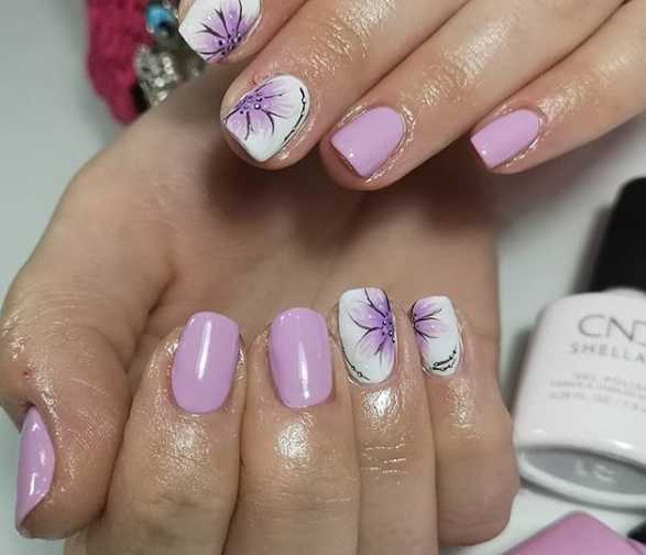 Blossoms Pastel Nail Polish
