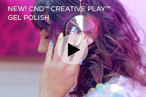 CND Creative Play Gel Polish Video
