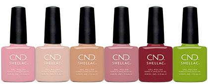 CND Autumn Addict Shellac Collection