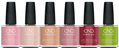 CND Autumn Addict Vinylux Collection