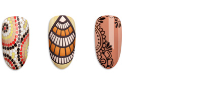 CND Boho Spirit Collection Nail Art Gallery Tutorials