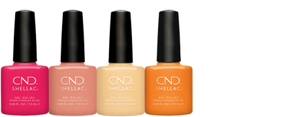 CND Boho Spirit Collection Shellac Brand Lineup