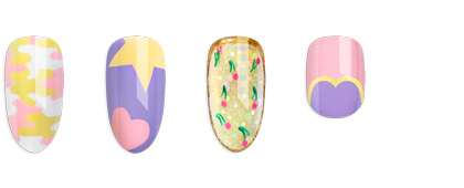 CND Chic Shock Collection Nail Art Gallery Tutorials