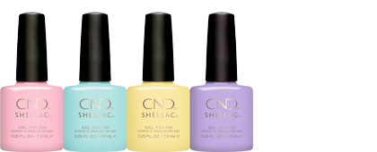 CND Chic Shock Collection Shellac Brand