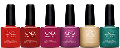 CND Cocktail Couture Shellac Collection