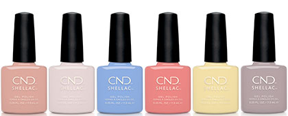 CND The Colors of You CND Shellac Collection