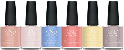 CND The Colors of You CND Vinylux Collection