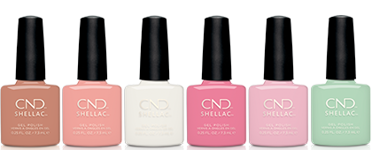 CND English Garden Shellac Collection