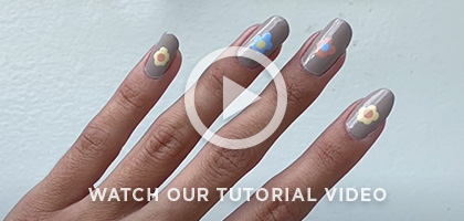 CND Flower Child Tutorial