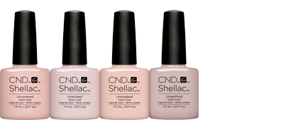 CND Shellac Nude Collection