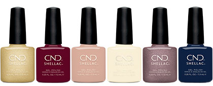 CND Party Ready CND SHELLAC Collection