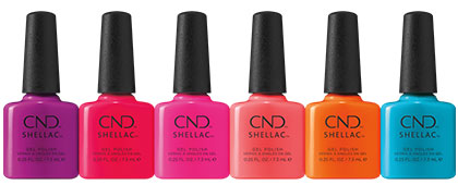 CND Summer City Chic CND SHELLAC Collection