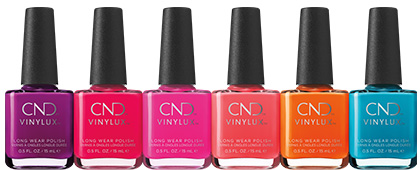 CND Summer City Chic CND VINYLUX Collection