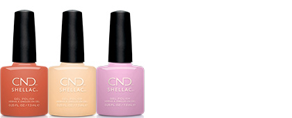 CND Sweet Escape Shellac Collection