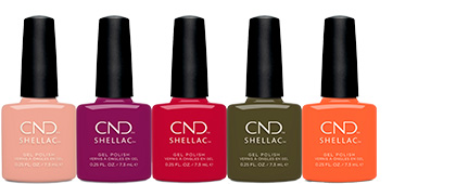 CND Treasured Moments Shellac Collection