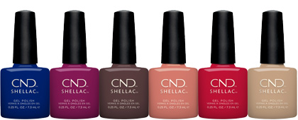 CND Wild Earth Shellac Collection
