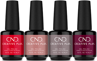 CND Creative Play Gel Polish - Must Haves Collection Lineup
