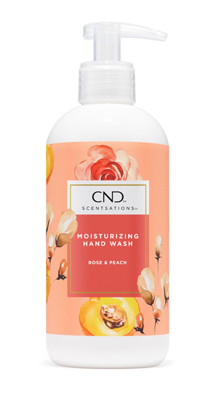 CND Scentsations Hand Wash Rose & Peach