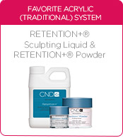 CND Retention+ Sculpting Liquid and Retention+ Powders