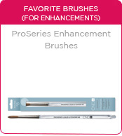 CND ProSeries Enhancement Brushes