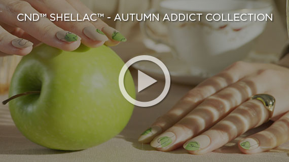 CND SHELLAC Autumn Addict Collection